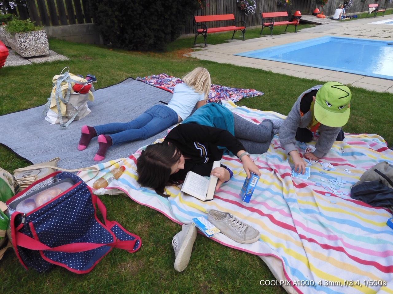 Ein Picknick der anderen Art: Zusammensein, ohne Smartphone & Internet