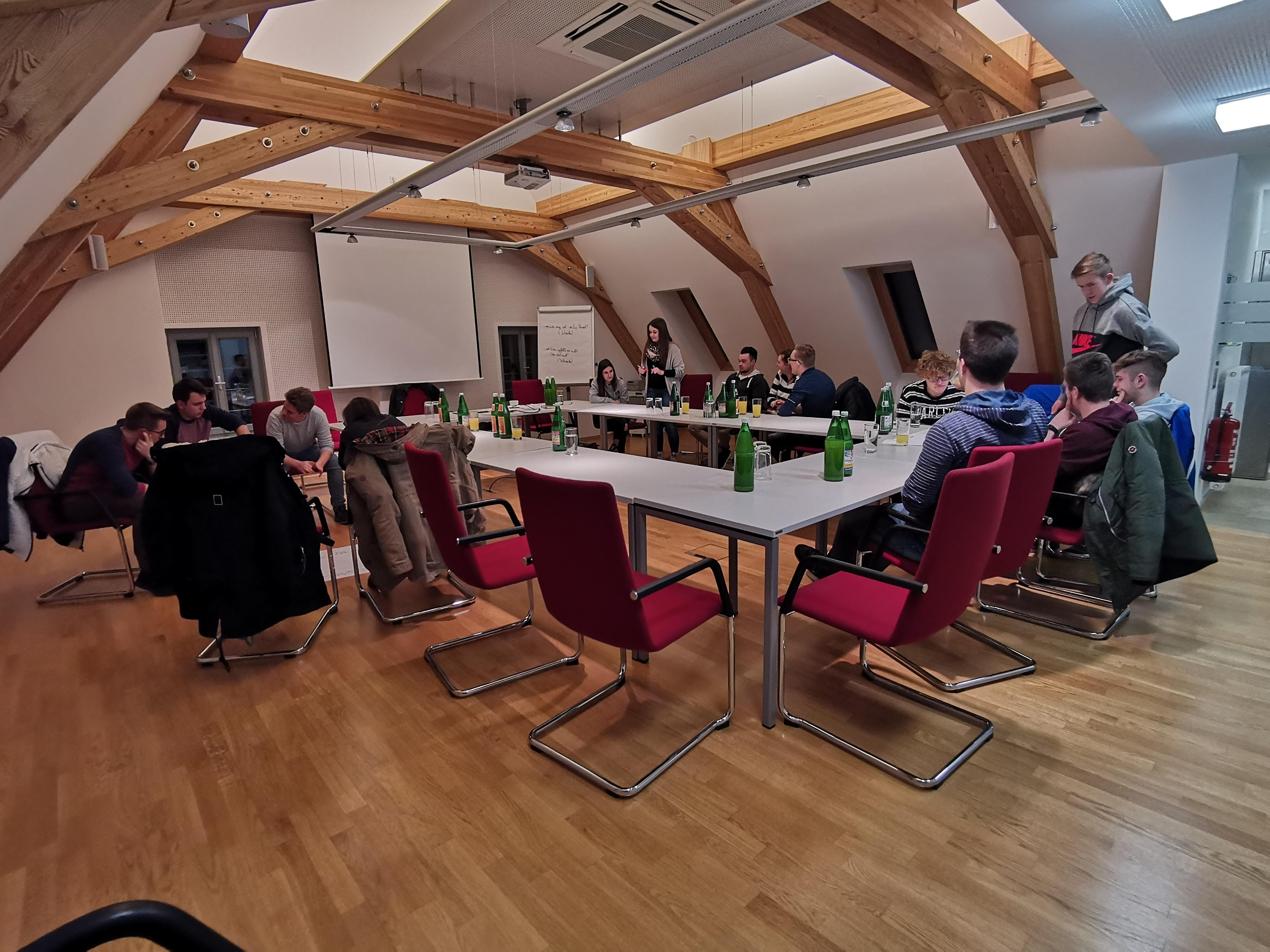 15 junge Erwachsene und ihre Ideen für eine starke Region bzw. Marktgemeinde.