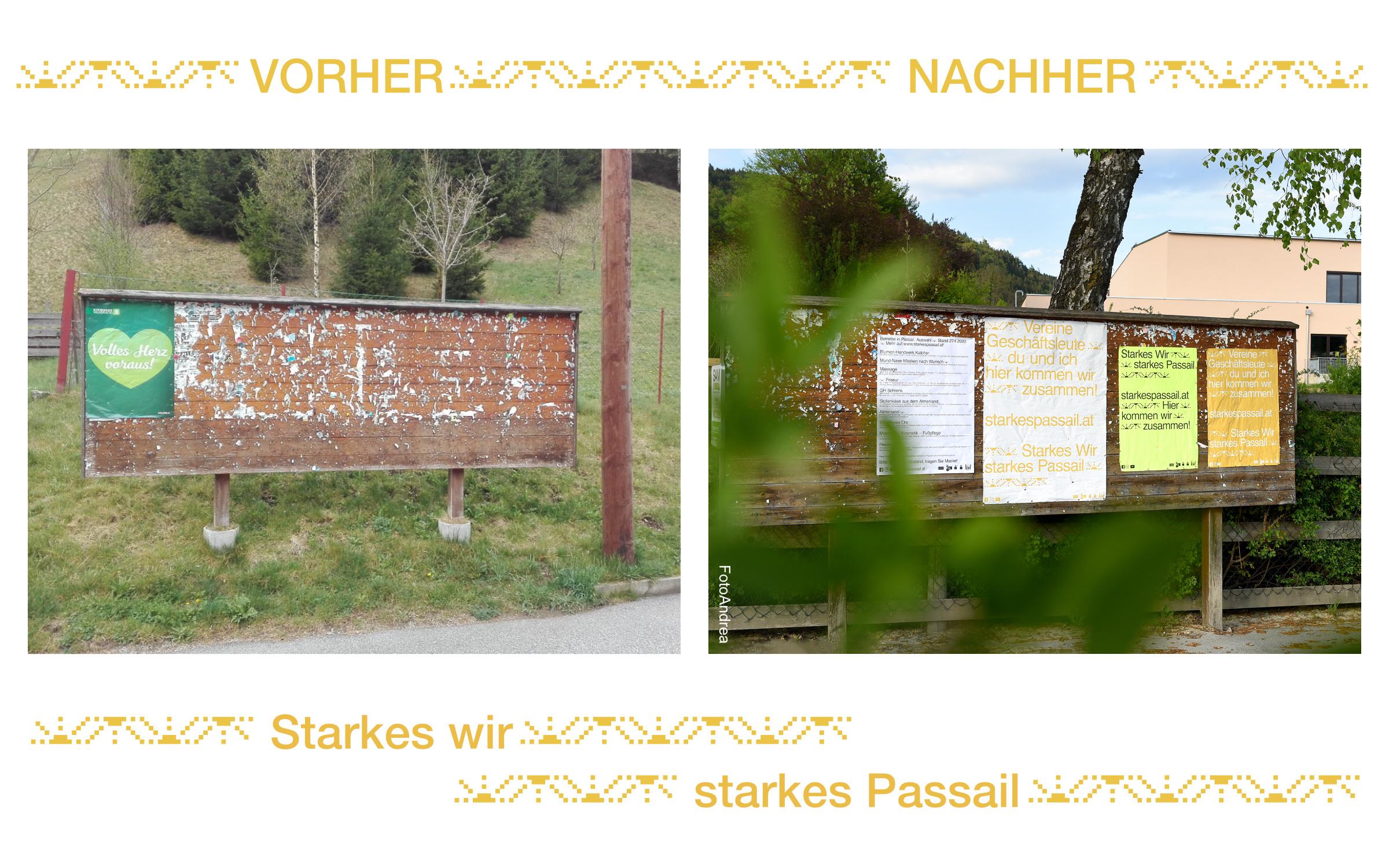 """Eine Geschichte von Vorher und Nachher in """"Starkes Passail"""""""