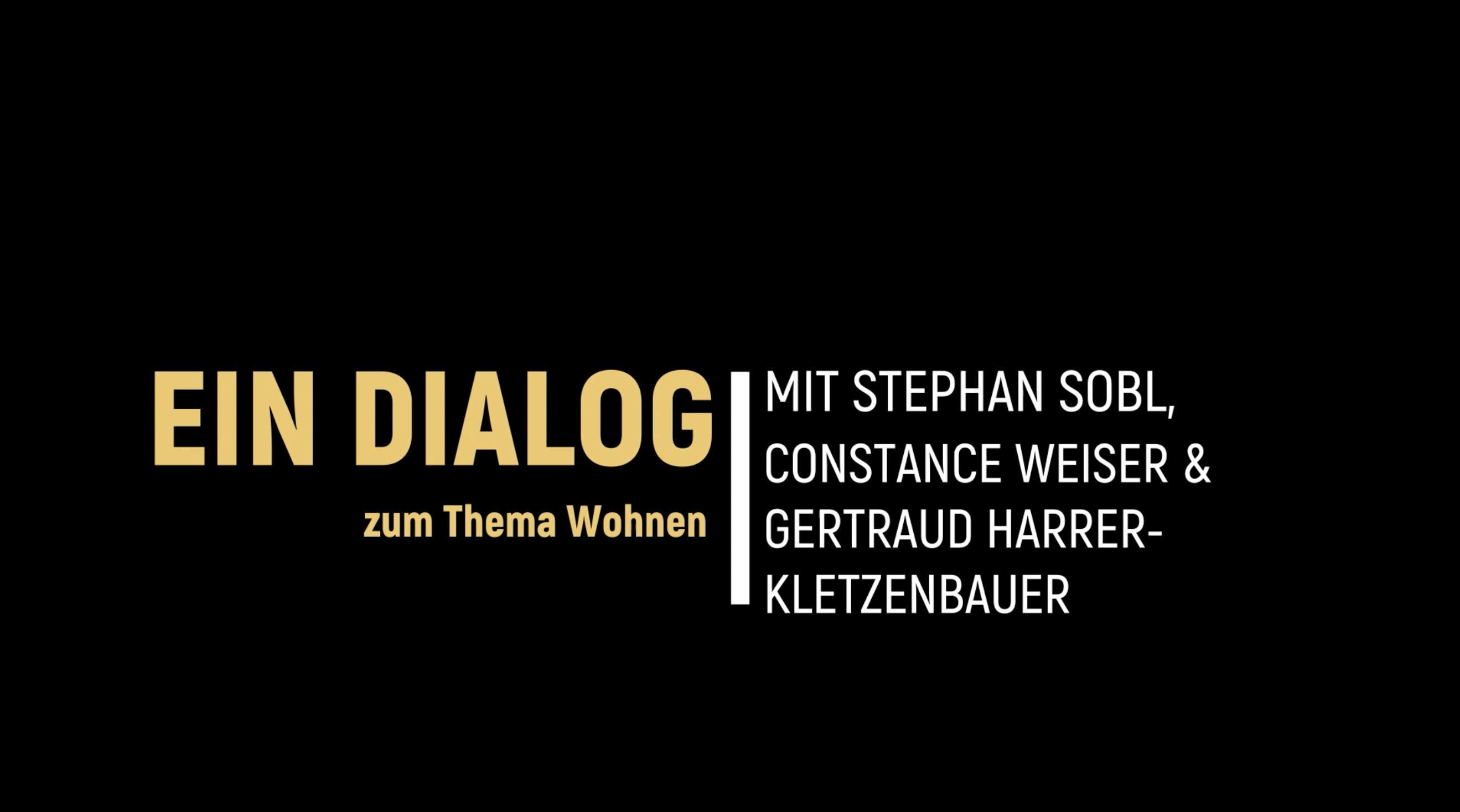 Dialog zum Themenfeld Wohnen in 2030